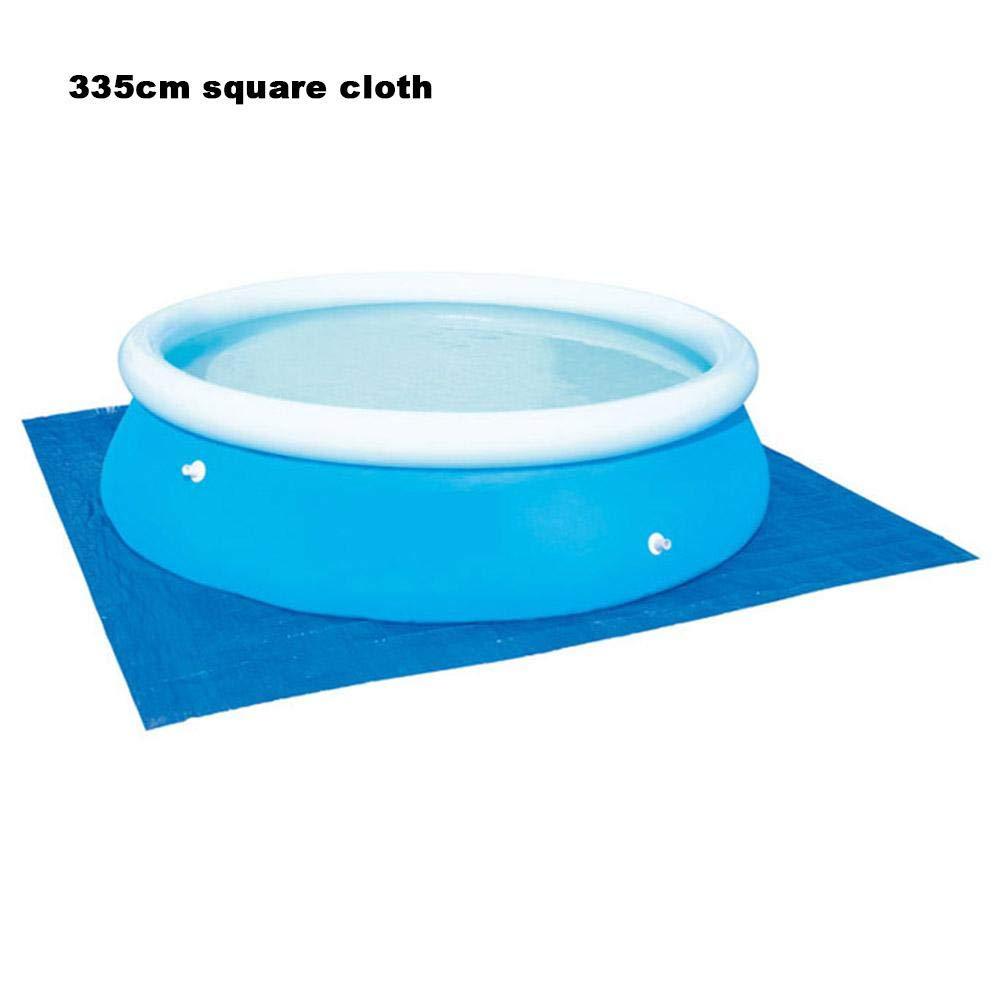 Cubierta rectangular plegable para alberca, redonda, para albercas, piscinas, suelo, protector de piso para piscina inflable, elegante, multicolor: Amazon.es: Bricolaje y herramientas