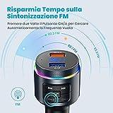 Zoom IMG-1 trasmettitore fm bluetooth 5 0