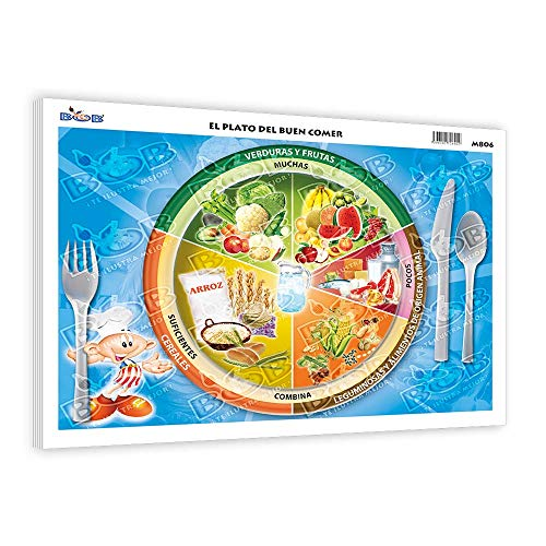 Monografías Plato del buen comer PAQ. c/100