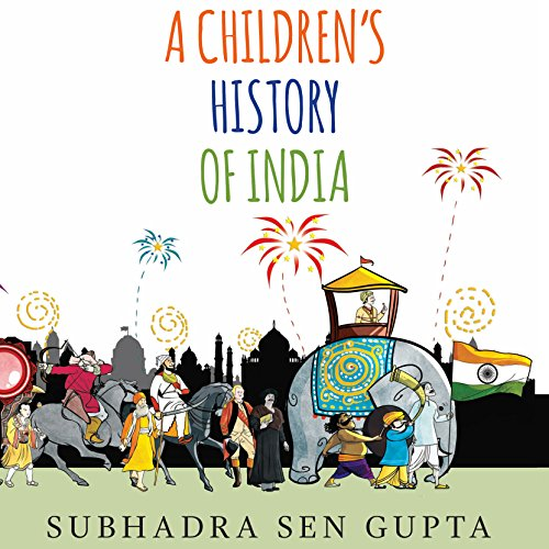 A Children's History of India audiobook cover art