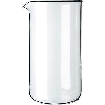 Bodum 1508-10 Verre de Rechange pour Cafetière à Piston 8 Tasses, 1 L