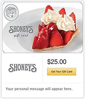 Shoney's Gift Cards - E-mail Delivery