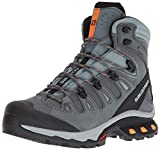 Salomon Quest 4D 3 GTX W, Botas de Senderismo para Mujer, Multicolor (Lead/Stormy Weather/Bird of Paradis 000), 36 EU