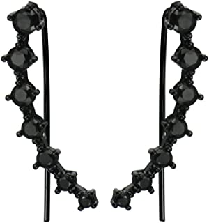 Best cubic zirconia black diamond earrings Reviews