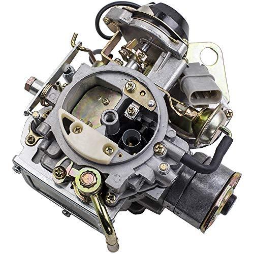 maXpeedingrods Carburetor for Nissan 720 Pickup 1983-1986 with 2.4L Z24 Engine,for Nissan Bluebird/Caravan/Atras Truck/Vanette Panel Van/for Datsun Truck 16010-21G61