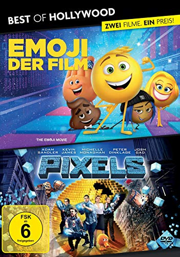 Best of Hollywood - 2 Movie Collector's Pack: Emoji - Der Film / Pixels [2 DVDs]