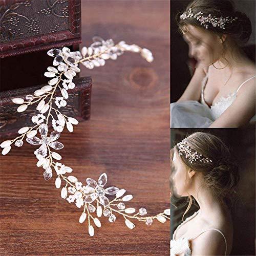 Parel Haarband Wit Bruiloft Jurk Accessoires Haarband Hoofdband Bruids Hoofddeksels