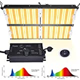 Carambola 4000W LED Grow Light 5x5 ft Sunlike Full Spectrum IR Commercial Grow Lights for Indoor Hydroponic Plants Veg Bloom 1152pcs LEDs Waterproof Hightest Efficiency