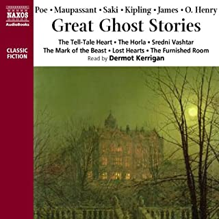 Great Ghost Stories audiobook cover art