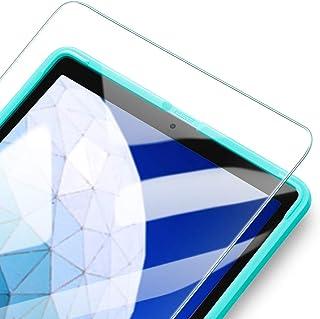 ESR iPad Air3/Pro 10.5 フィルム[貼る枠付き] 自動吸着 高透明 9H 旭硝子