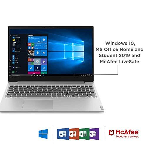 Lenovo Ideapad S145 10th Generation Intel Core i5 15.6 inch FHD Thin and Light Laptop (8GB/1 TB HDD + 256 GB SSD/Windows 10/Office 2019/Grey/1.85Kg), 81W800HFIN