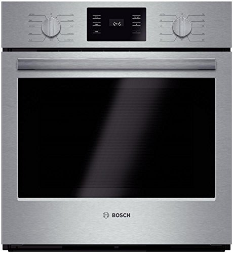 Bosch HBN5451UC 500 27' Stainless Steel Electric Single Wall Oven - Convection