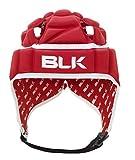BLK - EXOTEK HEADGUARD JUNIOR - Casque de Rugby - Grande absorption des chocs - Lanière ajustable - rouge