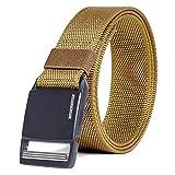 Winchester Tactical Belt Magnetic Buckle, Hiking Gear Essentials, Zulu Khaki, L
