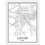 Lonfenner Leinwand Bild,Kirillowka Ukraine Abstrakte Farbe
