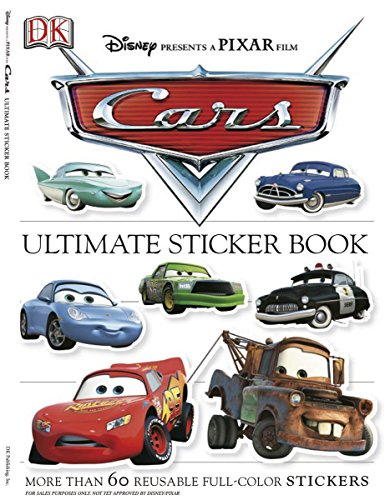 Cars [With More Than 60 Reusable Stickers]: More Than 60 Reusable Full-Color Stickers