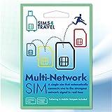 IoT/M2M 4G SIM-Karte mit 1 GB Daten pro Monat für 18 Monate Automatische Verbindung mit dem stärksten Netzwerk überall in der EU, um sicherzustellen, dass Sie immer ein Signal haben.