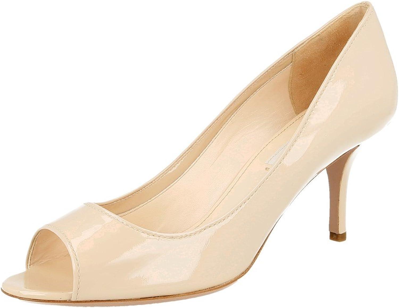 Prada Women's 3K5214 Leather Pumps Heels