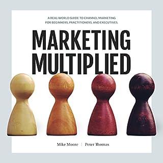 Marketing Multiplied audiobook cover art