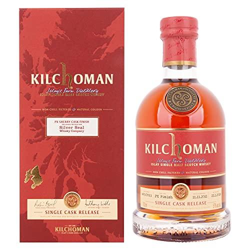 Kilchoman Kilchoman SILVER SEAL SINGLE CASK RELEASE PX Sherry Cask Finish 2011 57% Vol. 0,7l in Giftbox - 700 ml