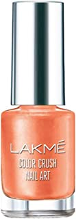 Lakme Color Crush Nailart, M17 Peach, 6 ml
