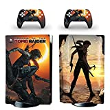 XIANYING PS5 Standard Disc Edition Skin Sticker Decal Cover para Playstation 5 Consola y Controlador PS5 Skin Sticker Vinyl