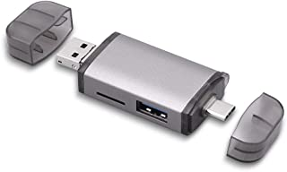 Lector de Tarjetas Tipo de Tarjeta C-SD TF del Ordenador USB 3.0 OTG Aplicar para Macbook Air de Escritorio portátil de la Tableta de la cámara Kit Pro/Huawei Conectado U Disco USB Convertidor