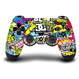 Demino Game Machine Controller Host Handle Protective Sticker for PS4,Sticker for Cover Skin for PS4