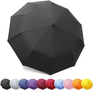 ZOMAKE Compact Travel Umbrella Windproof - Lightweight Folding Umbrella Automatic Open Close