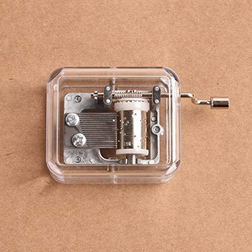 hsy Spieluhren Lasergravierte Vintage Spieluhr Geschenke zum Geburtstag/Weihnachten/Valentinstag-Musikalische Schmuckschatulle für Kinder Musikalische Geschenke für Fans Geschenkbox Freunde Neu