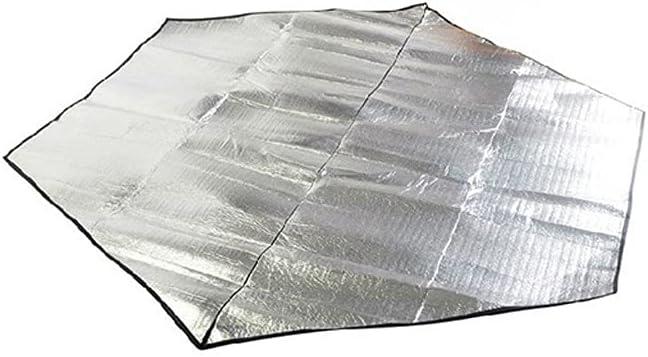 CIJK Hexagonal Aluminum Film Tucson Mall Moisture Mat Picnic Proof Tent Special price Pad