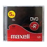 Maxell DVD-R 4.7GB - Confezione da 5