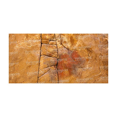 Variumprint die Aquariumfolie Aquarium Rückwandfolie Rückwand Selbstklebend mit Motiv Fotorückwand Sandstein VMO-0100 (B 120 x H 60 cm)