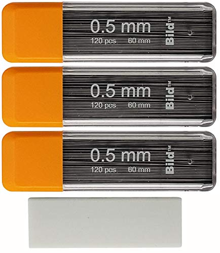 Bild Premium Mechanical Pencil Lead Refills (2B, 0.5 mm)
