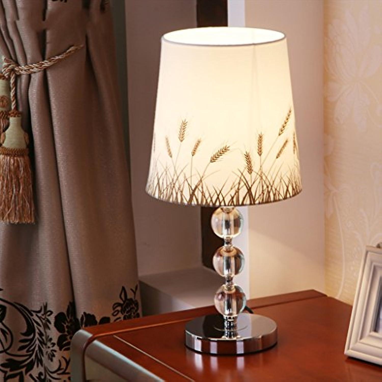 ASL Tischlampe Schlafzimmer Nachttischlampe Dimmable Crystal Tischlampe C