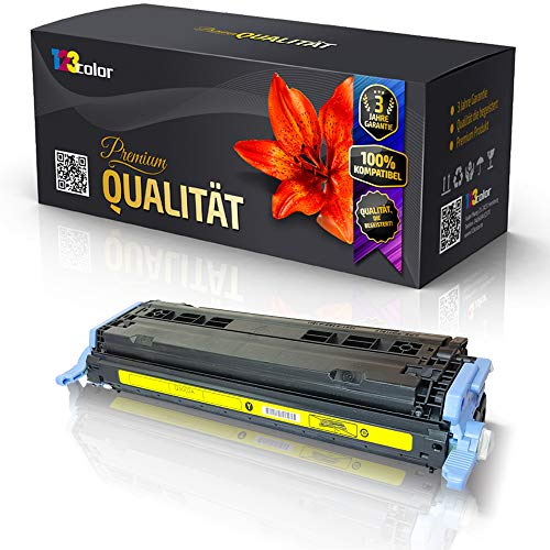 123Color alternatieve XL toner YELLOW voor HP Q6002A 124A Color HP Laserjet 1600 YELLOW