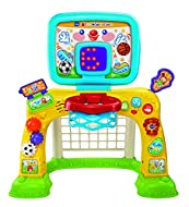 VTech 2-in-1 Sports Centre, Baby Interactive Toy with Colours and Sounds, Educational Games for Kids...