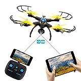 SHIRUI Drone con Telecamera HD, M50W 2.0MP 720P WiFi FPV Droni Quadricottero...
