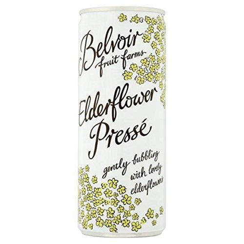 Belvoir Sparkling Elderflower 250ml - 12 Pack