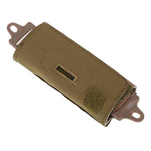 Filfeel casque tactique Accessoires, 2 couleurs Sac Rail Compteur Poids Pouch pour ou Ops/rapide/BJ/PJ/MH avec les blocs, #01