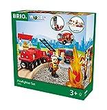 BRIO Bahn 33815 -  Bahn Feuerwehr Set  TV Artikel