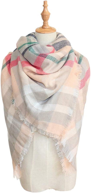 Beautiful Design Scarf Women's Autumn Winter Scarf Cloak Fringe Cape Cloak Scarf Warm Soft Scarf Wrap Shawl (color   Beige, Size   53.15 Inch Dia')