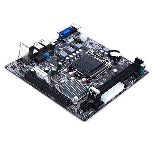H61-M LX3 Plus R2.0 Placa Base de Escritorio H61 Socket LGA 1155 I3 I5 I7 DDR3 Negro