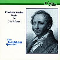 Works For 3 And 4 Flutes by The Kuhlau Quartet (1993-09-17)