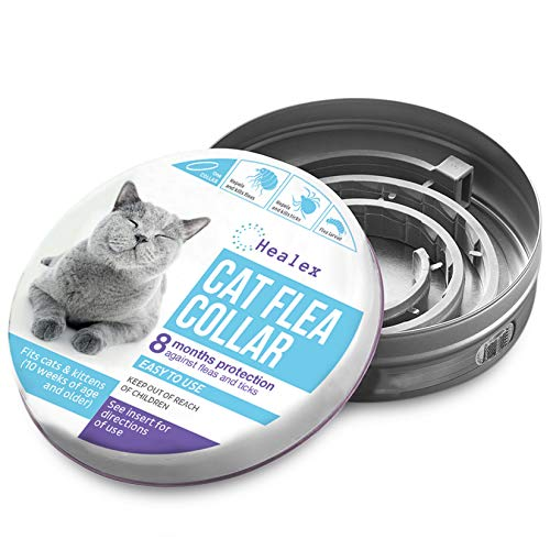 Healex Cat Flea Collar for Flea and Tick Treatment and Prevention | Premium...