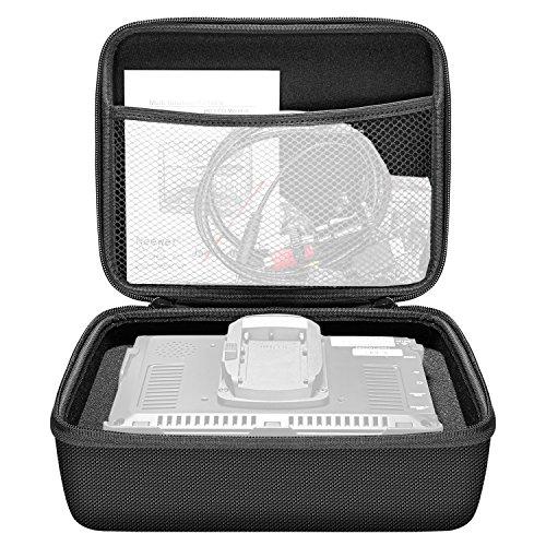 Neewer EVA Monitore Aufbewahrungstasche (24x19x9cm) mit ausgeschnittenem Würfelblock-Schaumpolster für NW759 / 760 / 74k Feelworld FW759 / 760 / 74k und andere 7-Zoll-Monitore