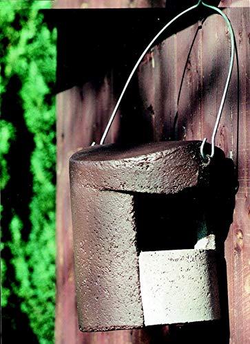 Schwegler Naturschutzprodukt Halbhöhlen Nistkasten Nisthöhle Vogelhaus Typ 2H Satz 2 Stück ohne Katzen- und Marderschutz