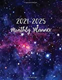 2021-2025 Monthly Planner: Galaxy Design, Yearly Planner Calendar | 60 Calendar Monthly Book | 5 Year Planner Organizer Book | Yearly Goal Planner | ... Planner (2021-2025 Monthly Calendar Book)