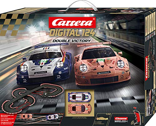 Carrera DIGITAL 124 Double Victory 20023628 Autorennbahn Set