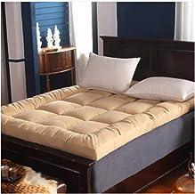 Japanese futons Mattress, Student Dormitory Folding Mattress, Thick Soft Multifunctional Mattress, Bedroom Camping mat,A V...
